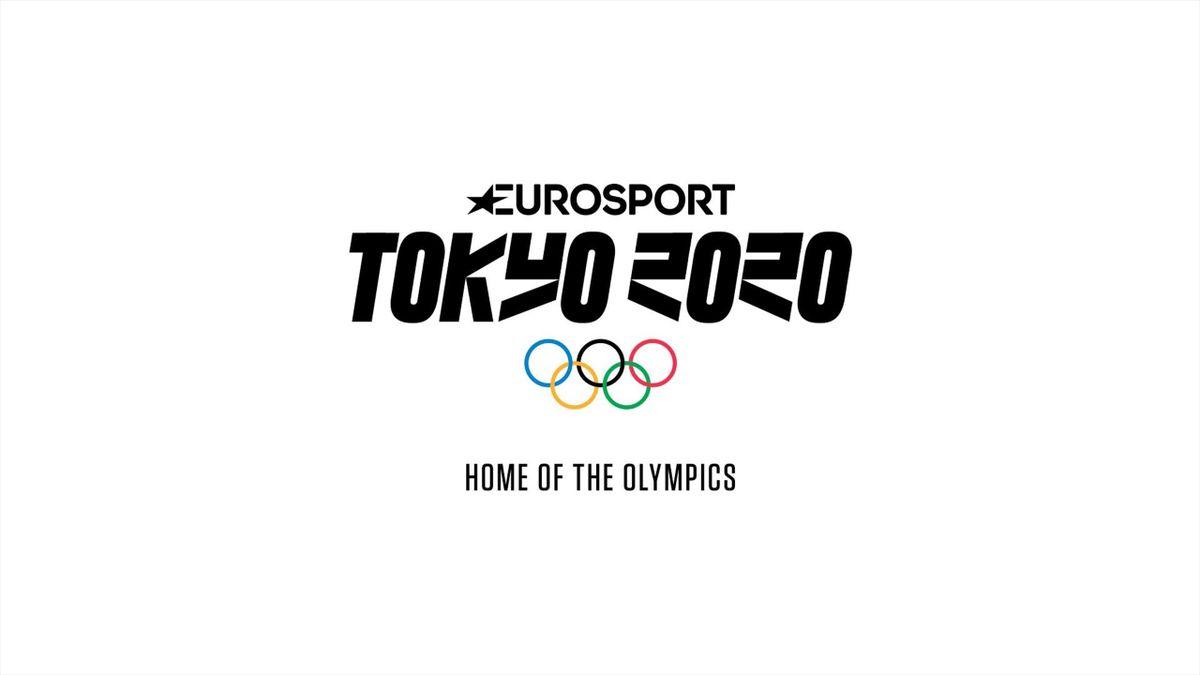 Tokyo 2020 logo for Eurosport