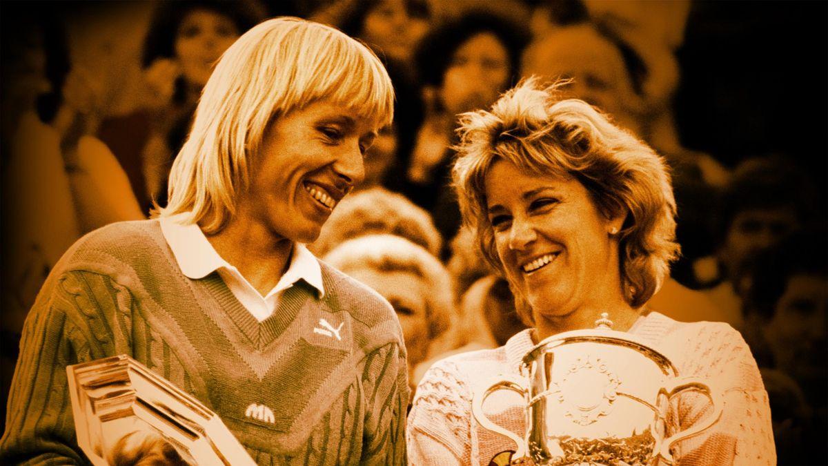 Martina Navratilova et Chris Evert, les inséparables.