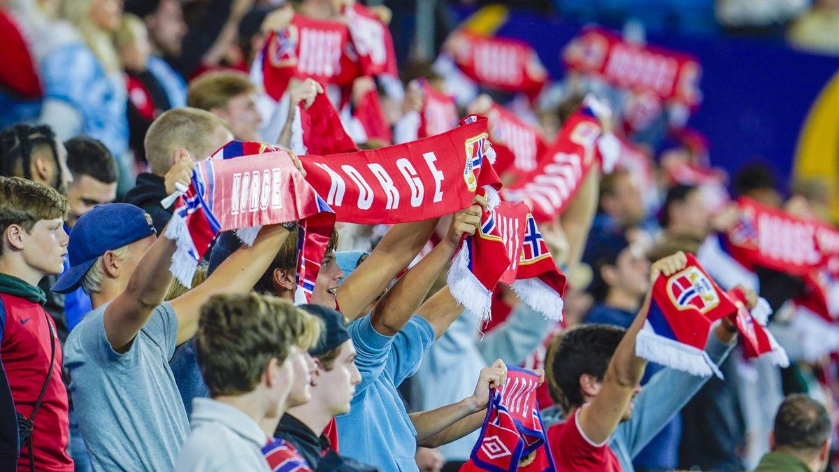 Norge og Gibraltar på Ullevaal Stadion