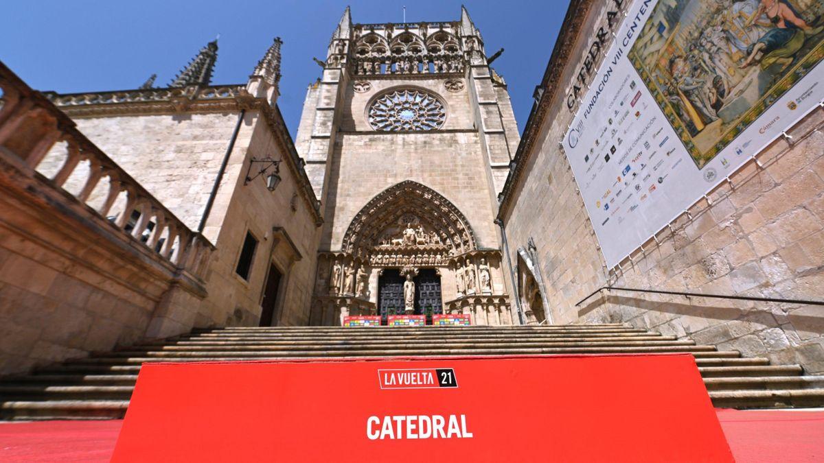 Burgos Cathedral / La Vuelta 2021