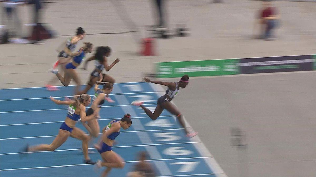 Athletics indoor : Amusan wins 60m Hurdles women