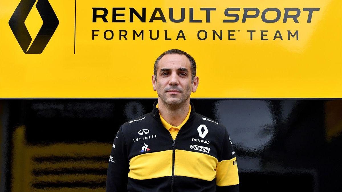 Cyril Abiteboul (Renault) au Grand Prix d'Autriche 2018