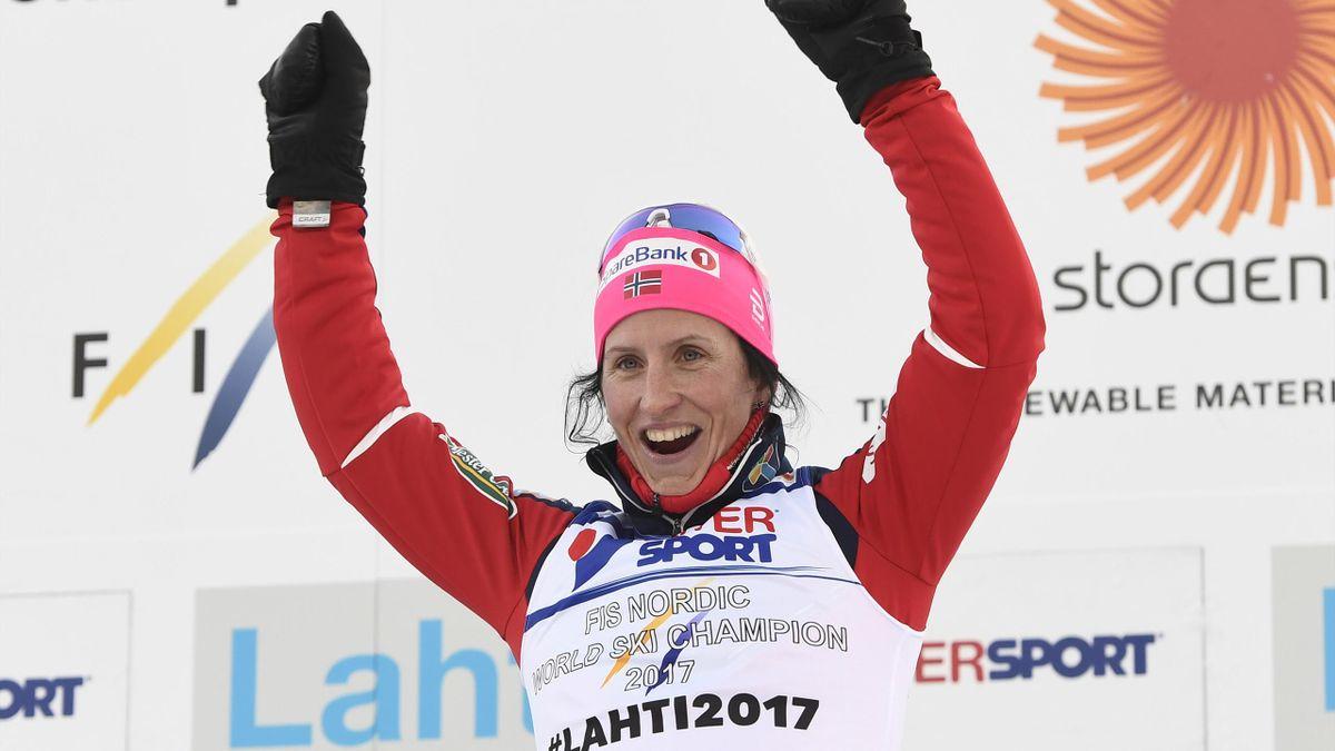 Marit Björgen feierte in Oslo einen Start-Ziel-Sieg