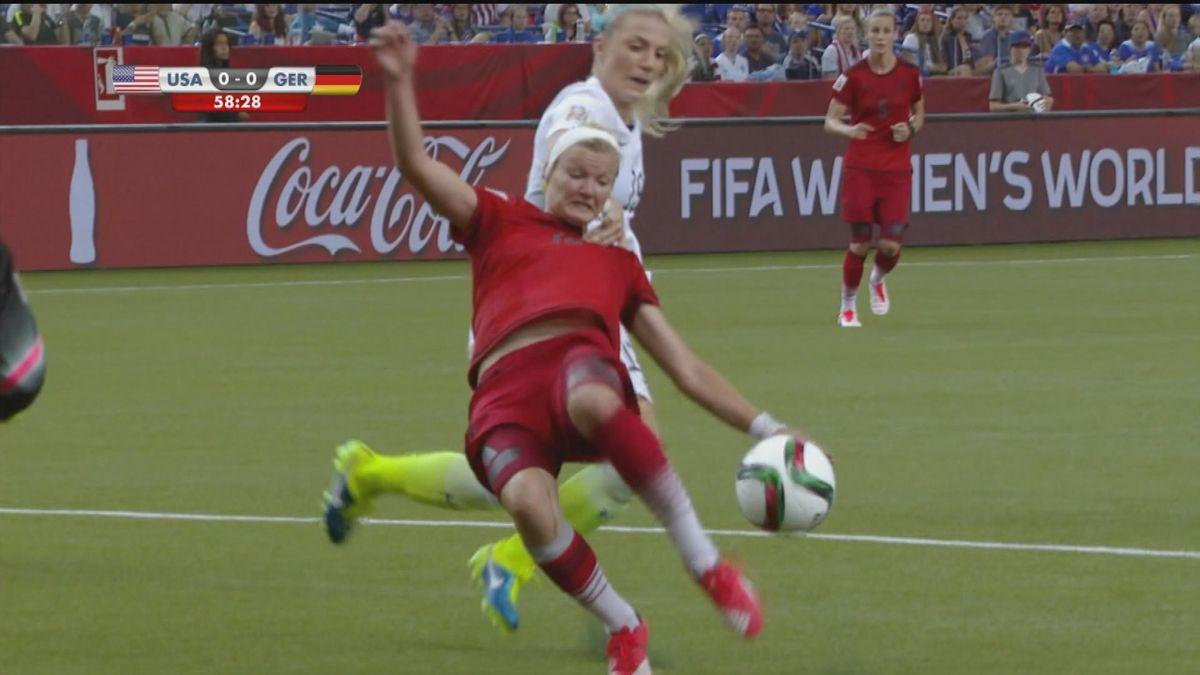 USA - Germany : penalty fail  Germany