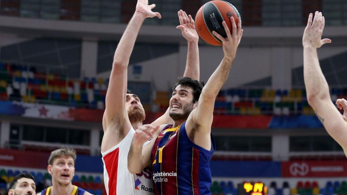 Álex Abrines, CSKA Moscú-Barcelona
