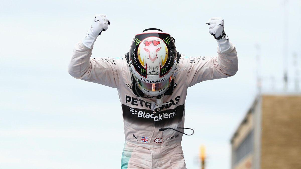 Lewis Hamilton (Mercedes) champion du monde au Grand Prix des Etats-Unis d'Amérique 2015