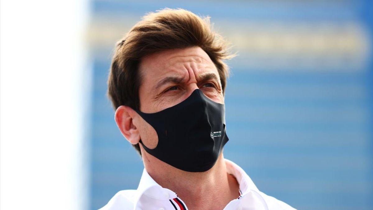 Toto Wolff (Mercedes) au Grand Prix d'Azerbaïdjan 2021