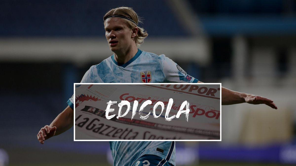 Edicola Erling Haaland