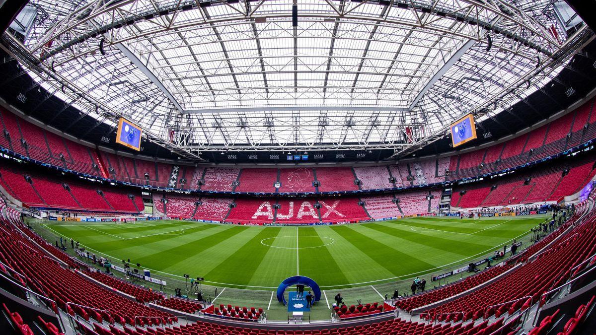 La Johan Cruyff Arena d'Amsterdam.