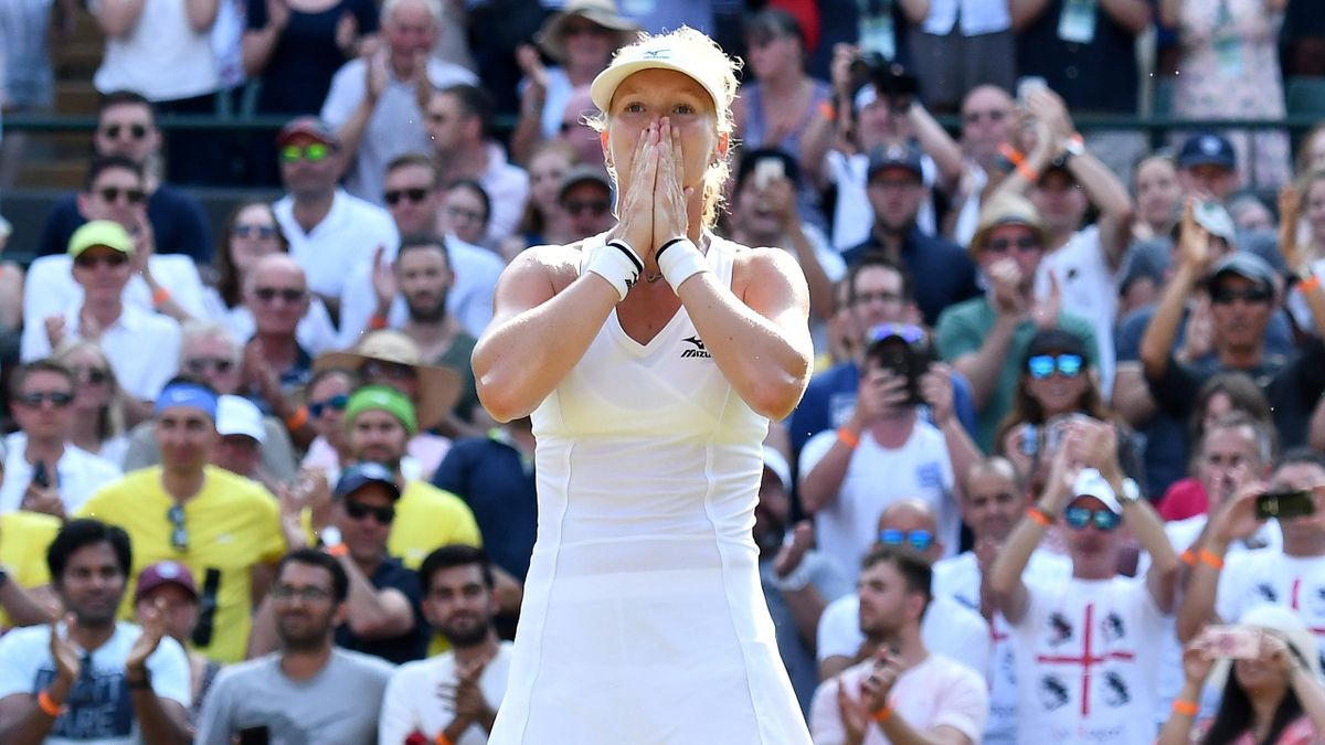 Kiki Bertens - Wimbledon 2018