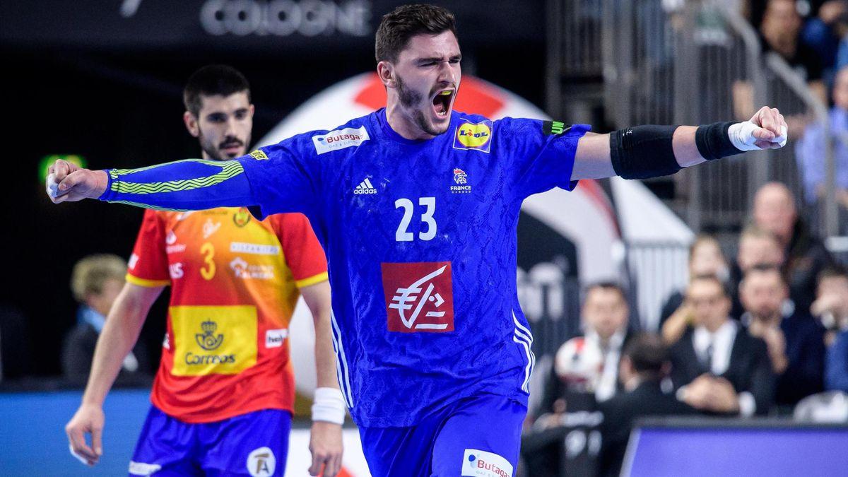 Handball WM, Frankreich, Spanien