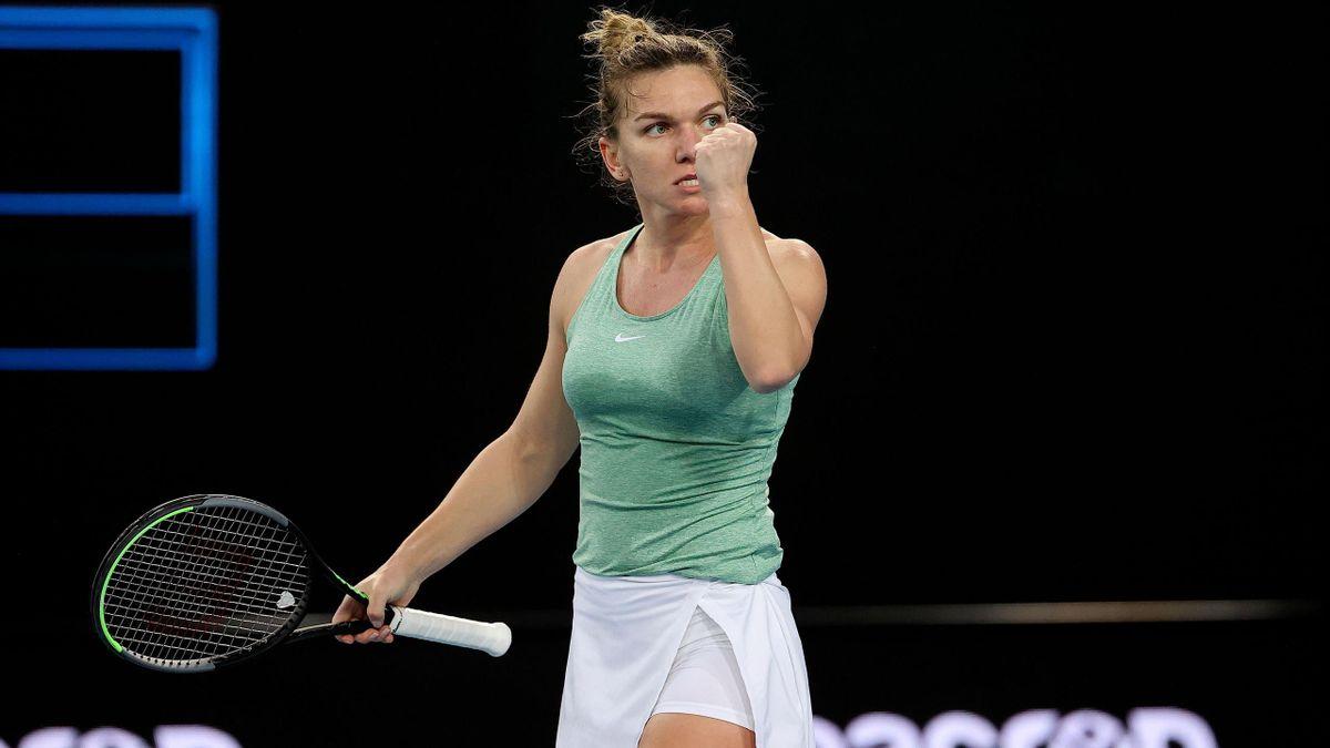 Simona Halep joacă perfect în Australia