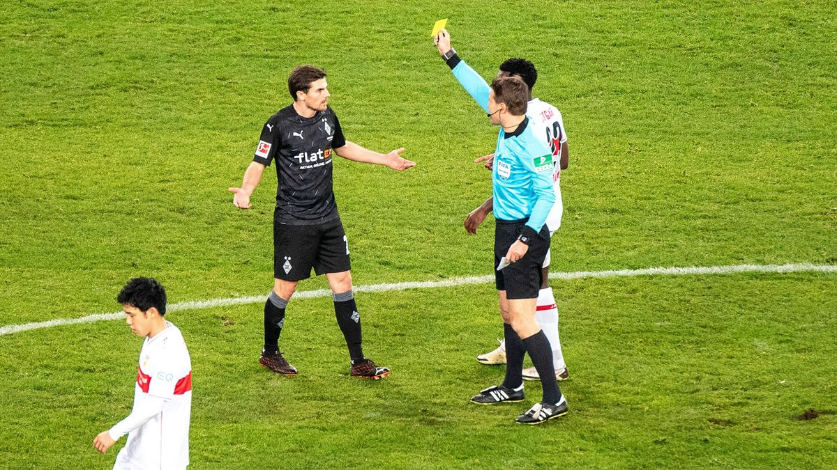 Jonas Hofmann (Borussia Mönchengladbach) im Spiel gegen den VfB Stuttgart