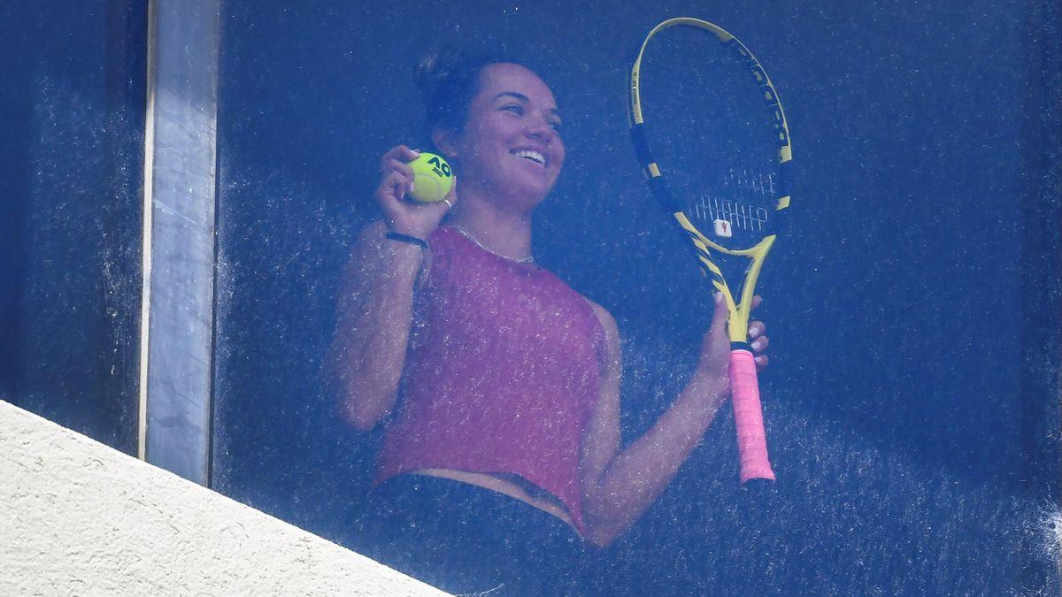 Tennis-Profis in Melbourne weiter im Hotelzimmer