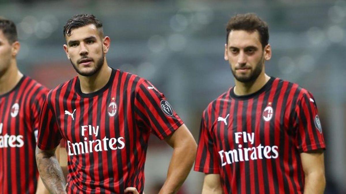 Calhanoglu e Theo Hernandez - Milan