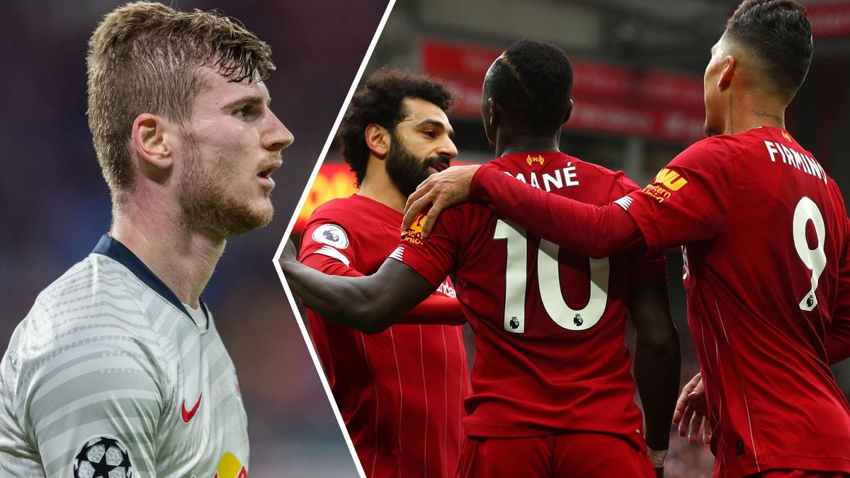 Could Timo Werner join Mohamed Salah, Sadio Mane and Roberto Firmino at Liverpool?