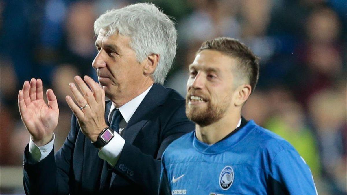 Gian Piero Gasperini e Papu Gomez - Atalanta