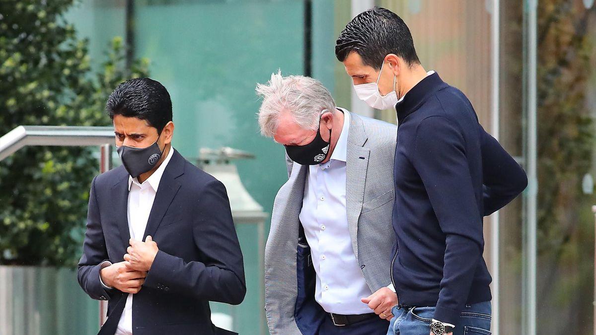 Sir Alex Ferguson, în vizită la hotelul lui PSG (Sursa: Daily Mail)