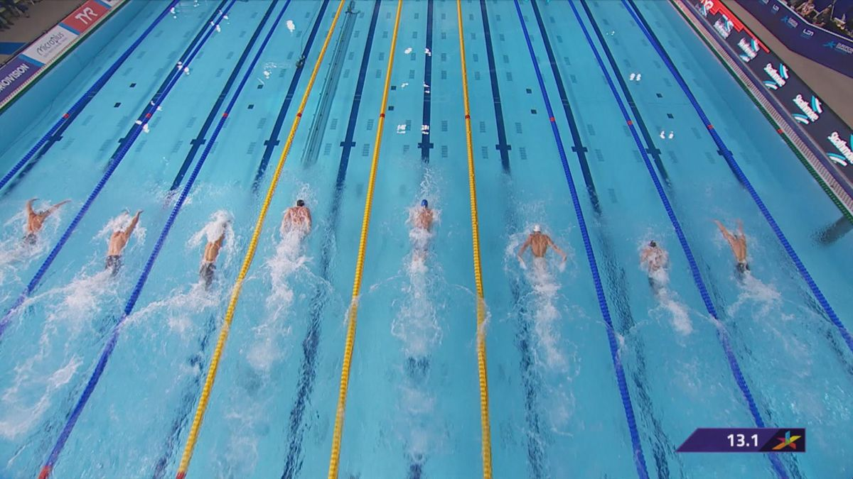 European championship : 50m butterfly men