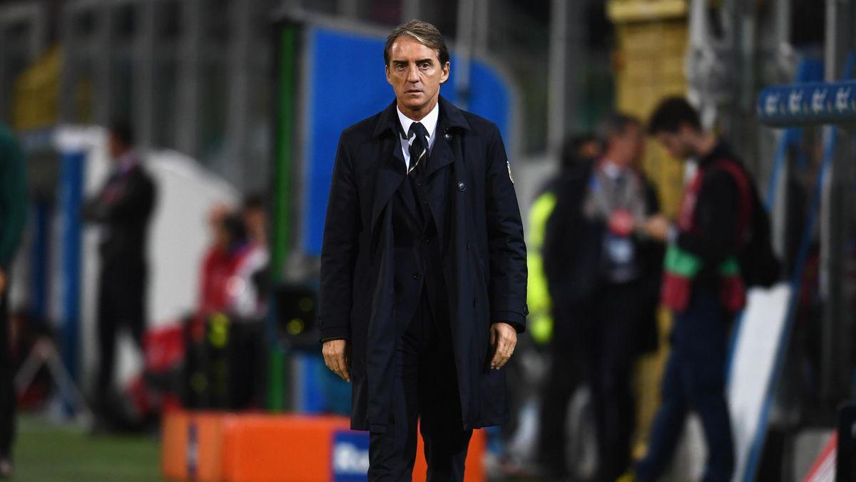 Roberto Mancini, c.t. della Nazionale italiana