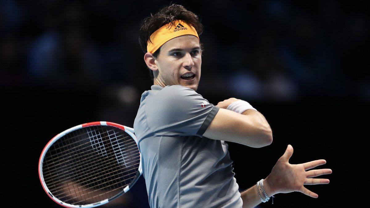 Bei den ATP Finals in London in der K.O.-Phase dabei: Dominic Thiem