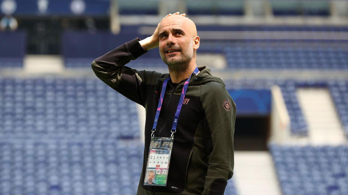 Пеп Гвардиола, «Манчестер Сити»