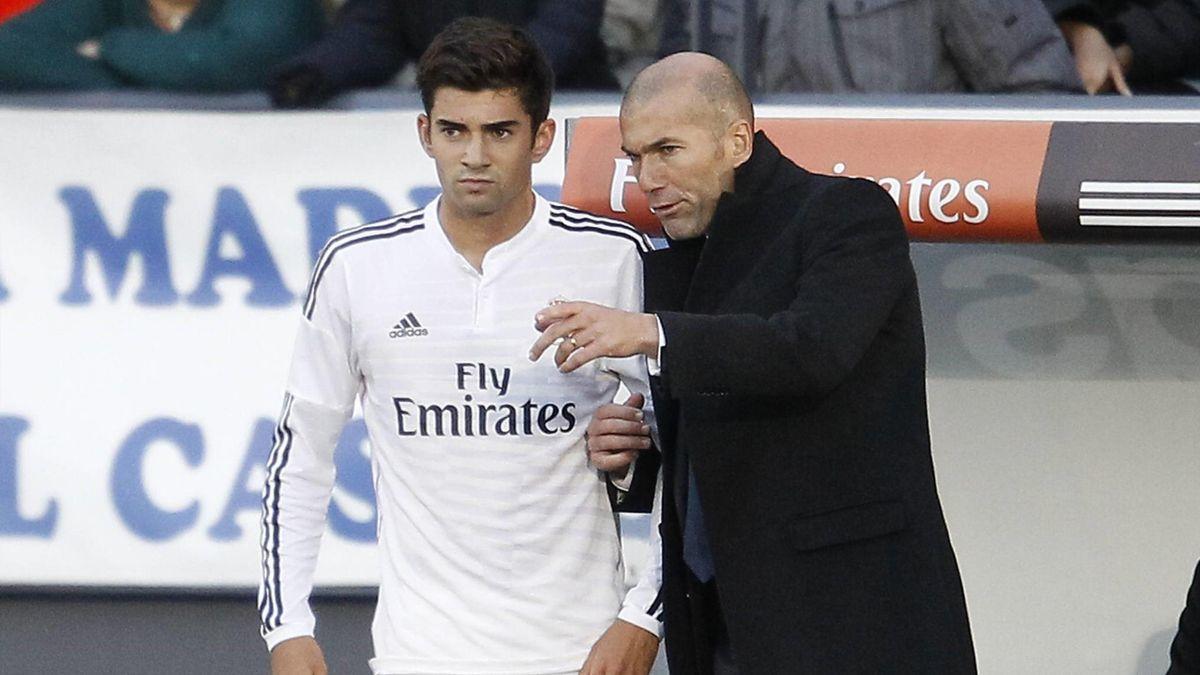 Enzo Zidane, Zinedine Zidane
