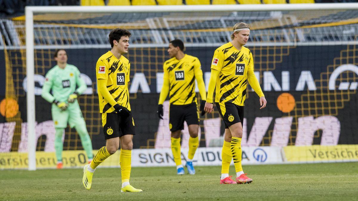 Giovanni Reyna (vorne links), Erling Haaland (vorne rechts) und Co. - Borussia Dortmund