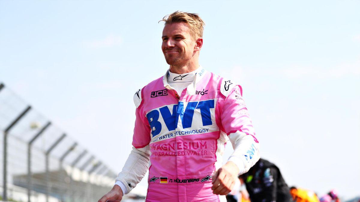 Nico Hülkenberg sprang in Silverstone und am Nürburgring kurzfristig für Racing Point ins Auto