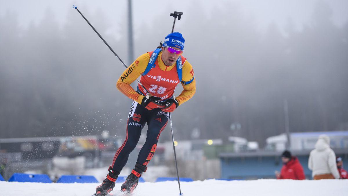 Simon Schempp in Oberhof