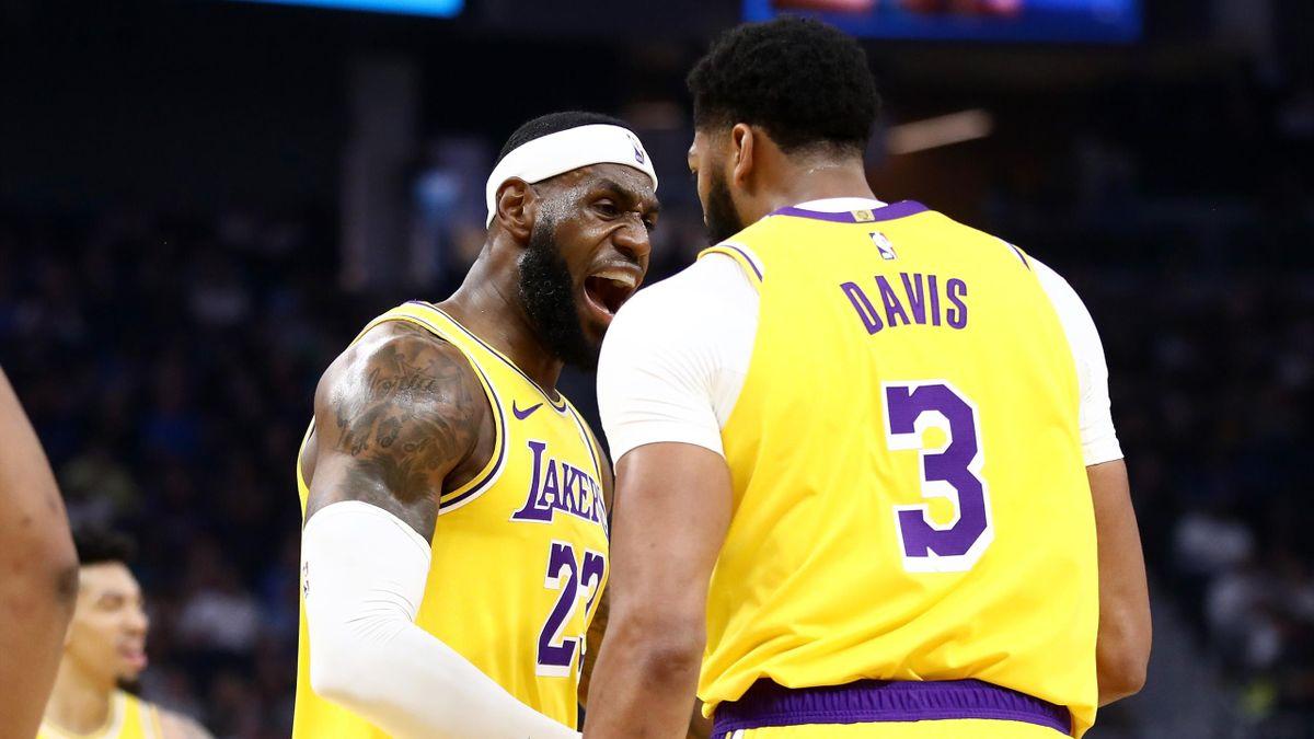LeBron James et Anthony Davis, le duo qui peut ramener un titre aux Lakers ?