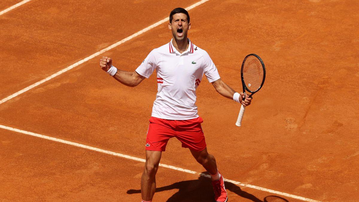 Novak Djokovic steht im Halbfinale des ATP Masters von Rom