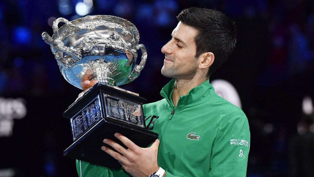 Novak Djokovic bei den Australian Open 2020