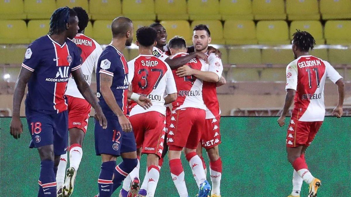 Monaco 3-2 PSG: Hosts roar back from two goals down to stun champions -  Eurosport