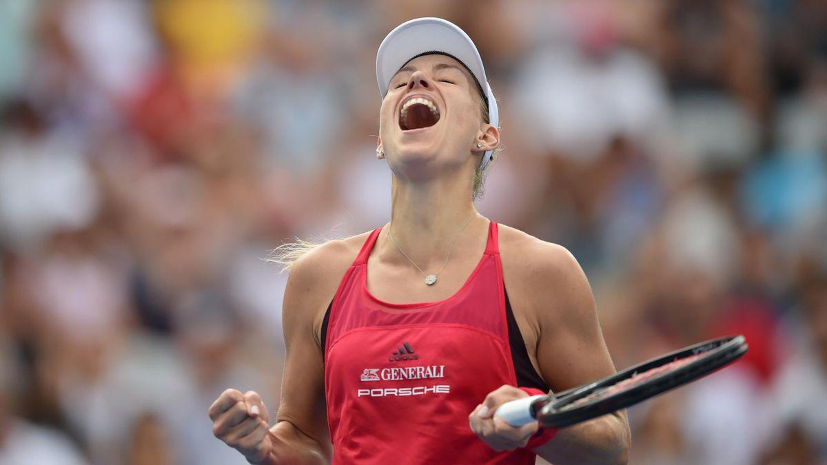 Angelique Kerber wins Sydney International