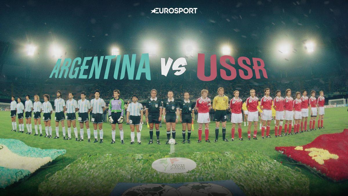 Аргентина – СССР, ЧМ-1990