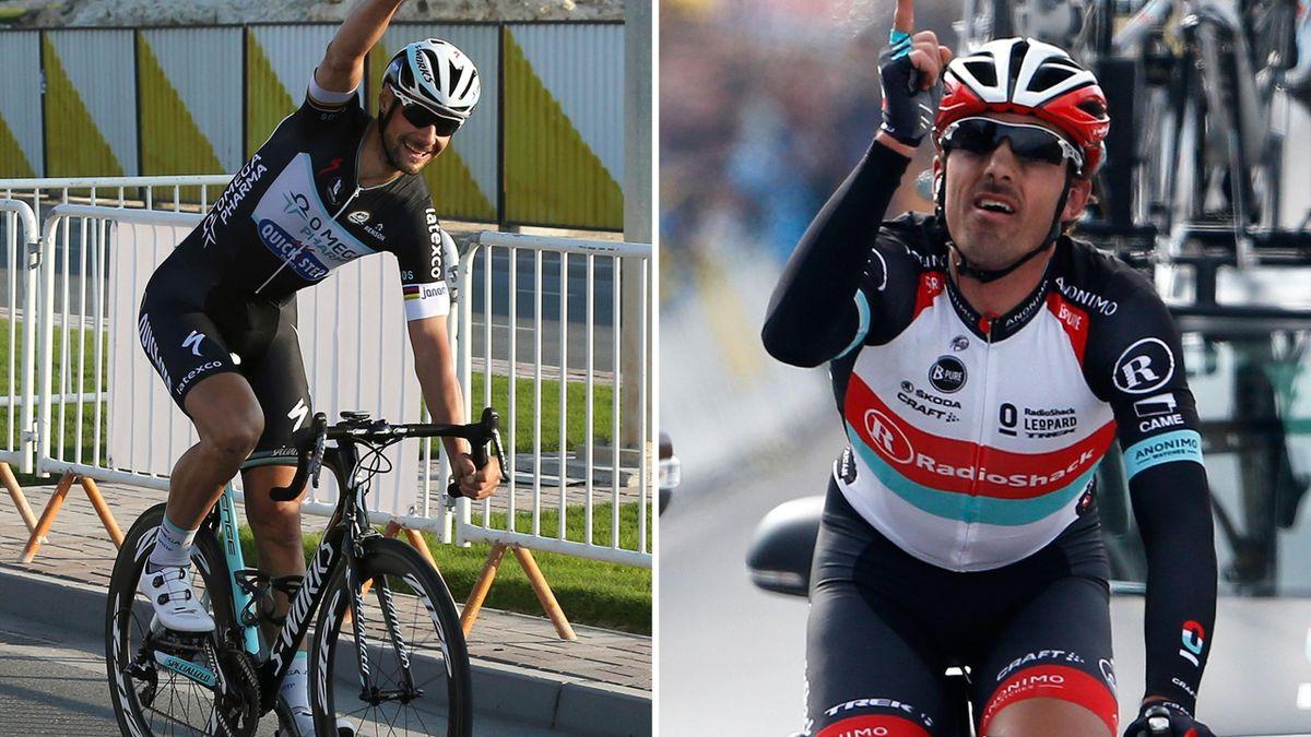 Tom Boonen versus Fabian Cancellara