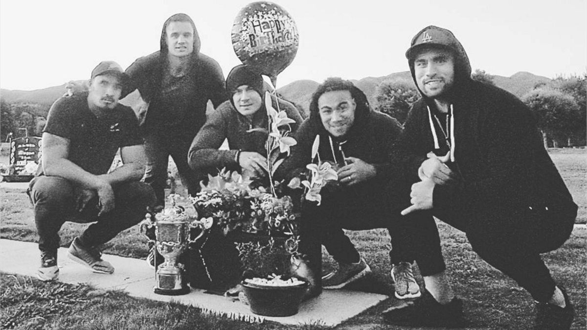 Jerome Kaino, Dan Carter, Sonny Bill Williams, Ma'a Nonu and Liam Messam (Dan Carter / Instagram)