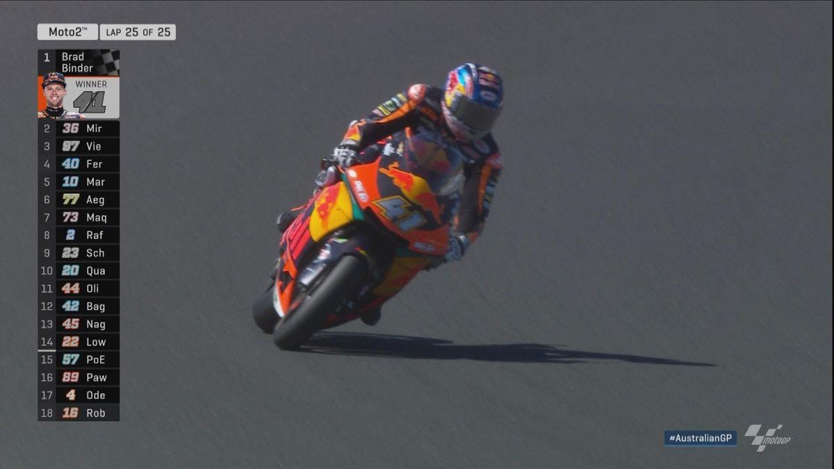 Australian GP - Moto2 - HLTS Race