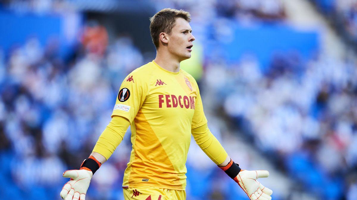 Alexander Nübel hütet aktuell das Tor der AS Monacoa