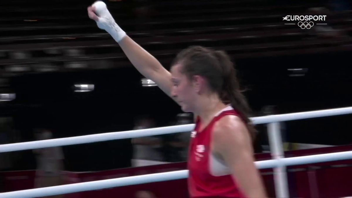 'All smiles' - GB's Artingstall secures bronze after semi-final defeat