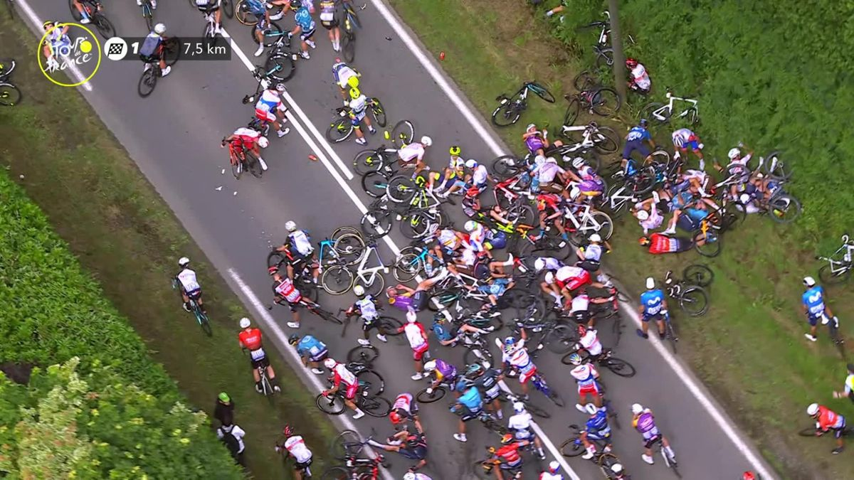 Tour de France| Enorme valpartij op 7.5 kilometer van de streep