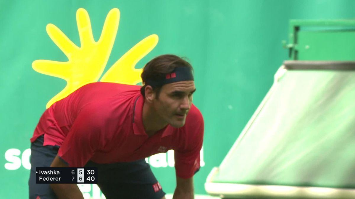 ATP Halle: Roger Federer wins in 2 set against Ilya Ivashka