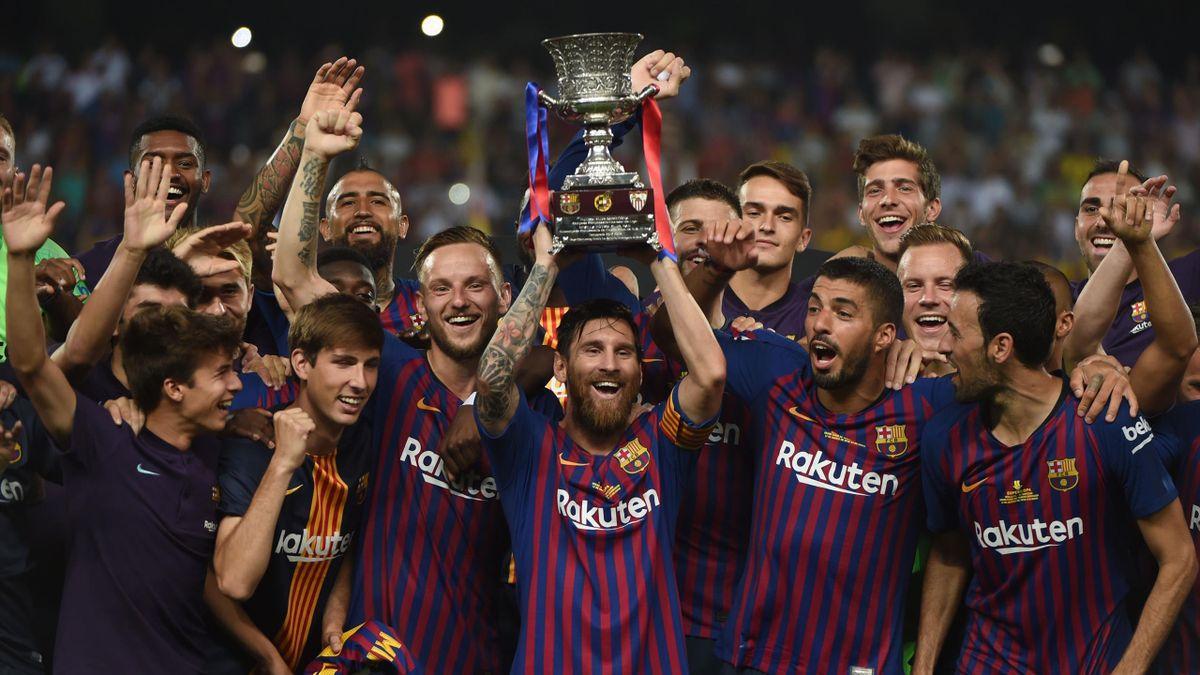 Fc Barcelona Supercup 2018