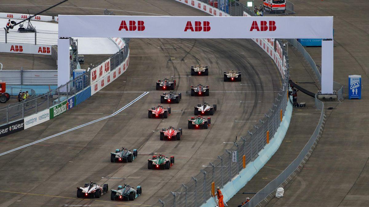 Die Formel E 2020 in Berlin