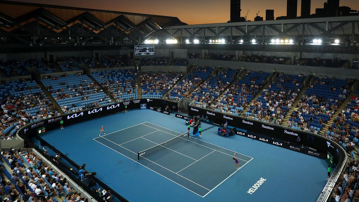 Australian Open in Melbourne 2021