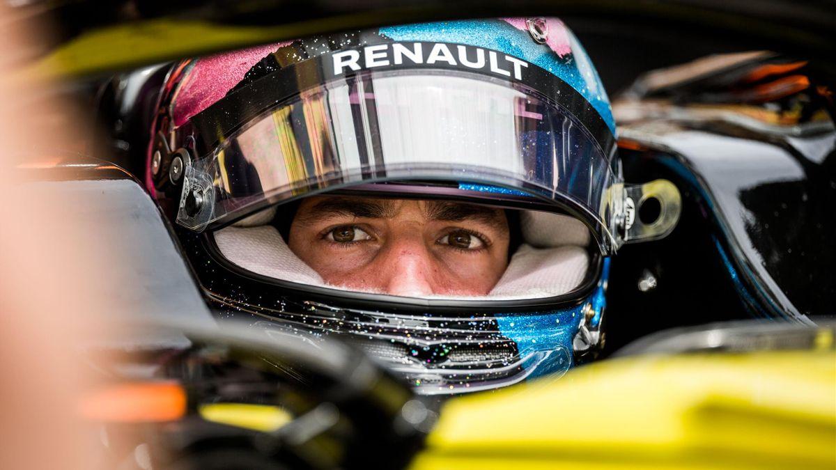 Daniel Ricciardo (Renault) au Grand Prix de Russie 2019