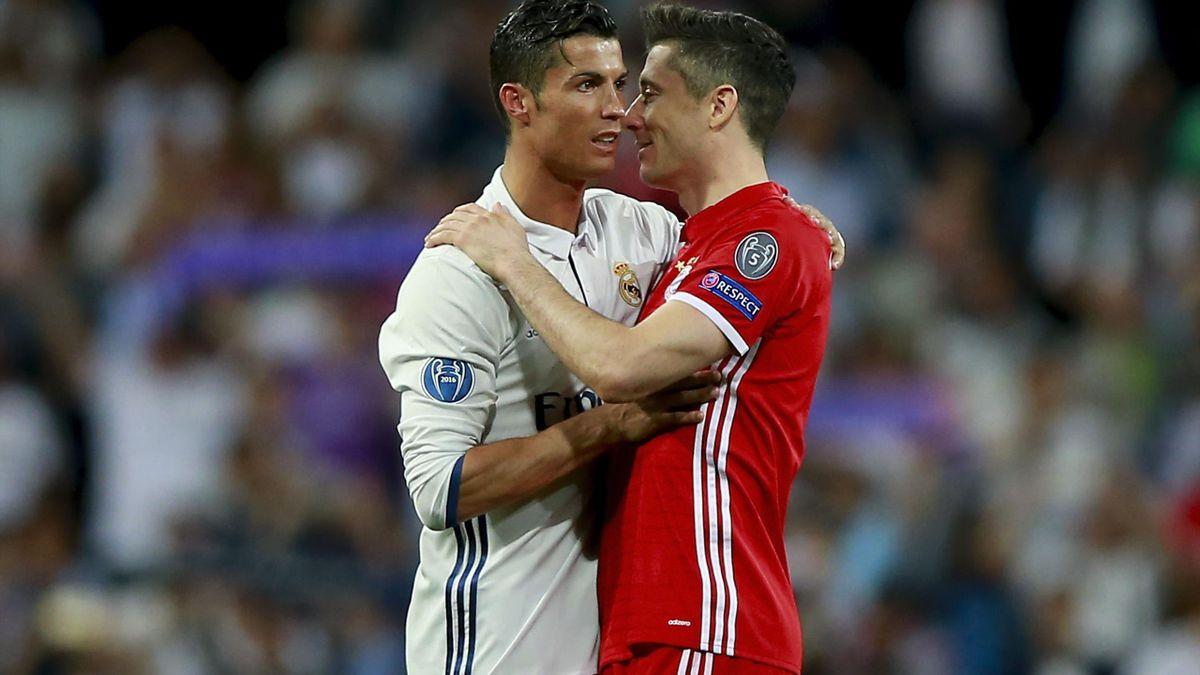 Cristiano Ronaldo & Robert Lewandowski