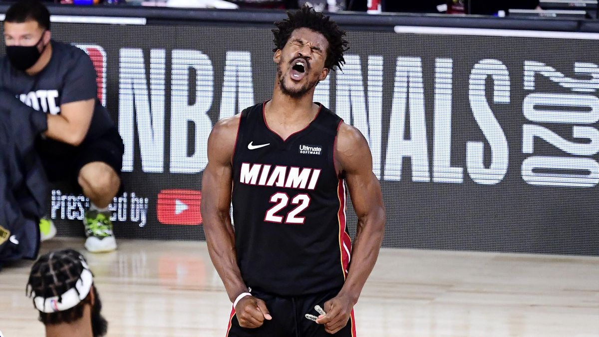 Jimmy Butler, Miami Heat-Los Angeles Lakers, NBA Finals