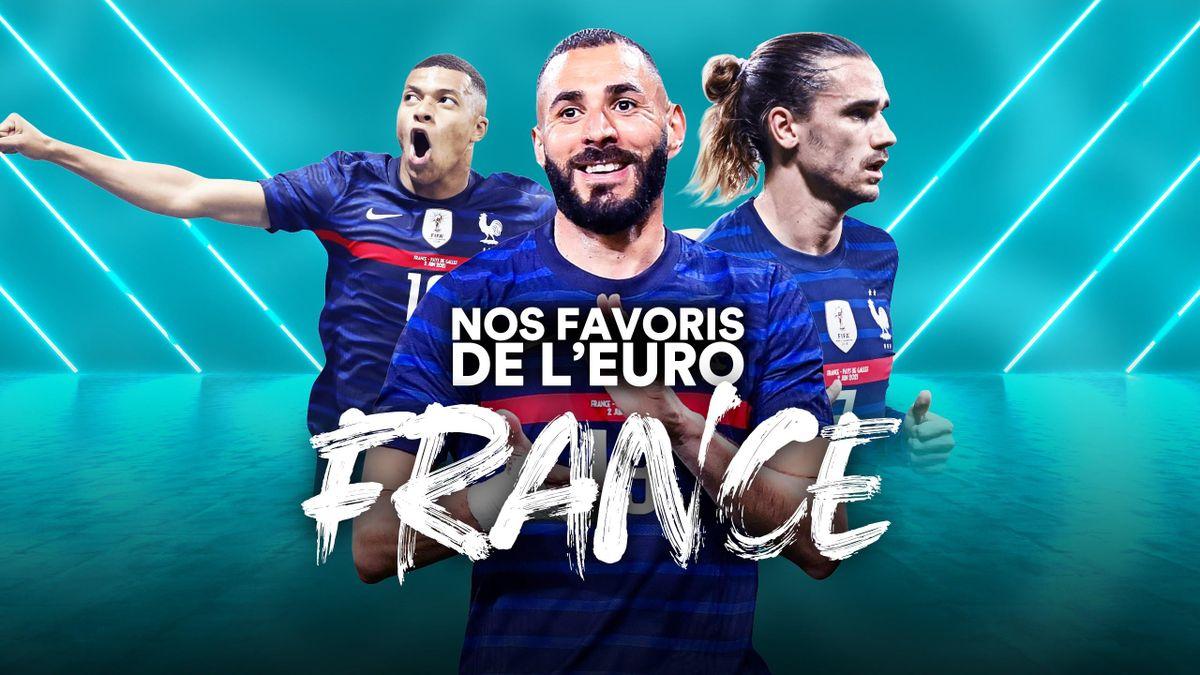 Nos favoris de l'Euro - Grand retour, grande équipe : immense pancarte pour la France